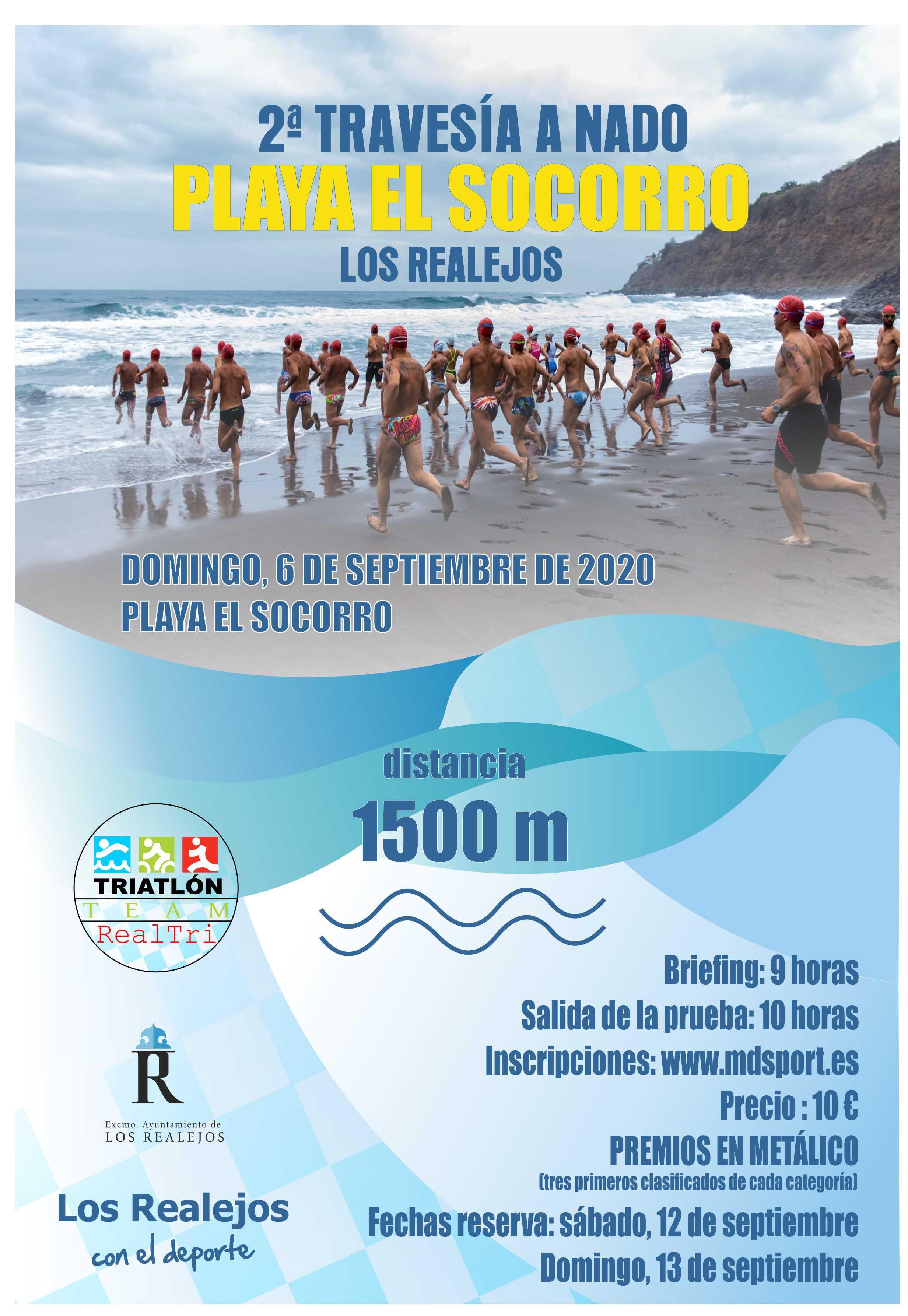 II Travesía Playa El Socorro 2020 abre sus inscripciones….