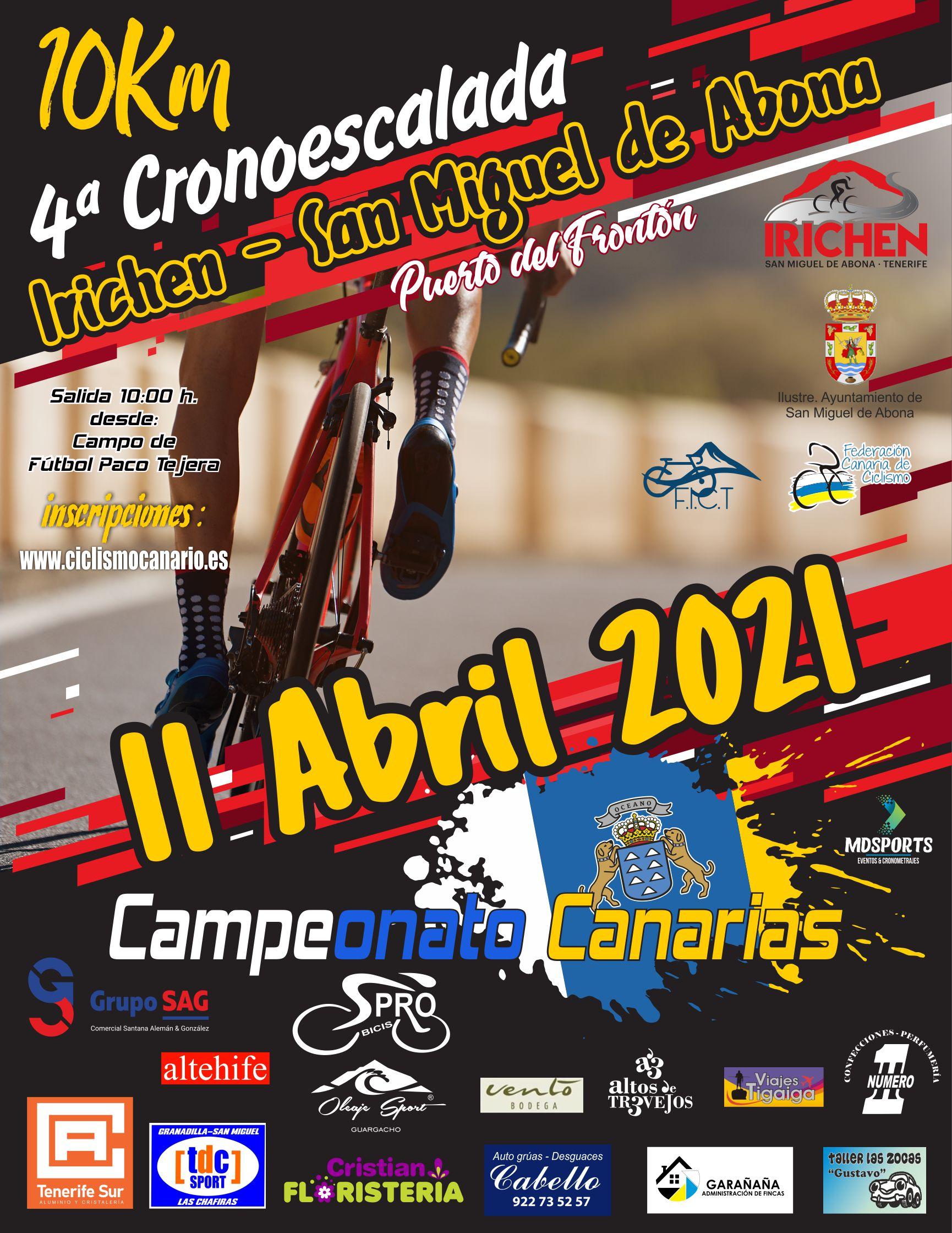 4ª Cronoescalada Irichen San Miguel 2021
